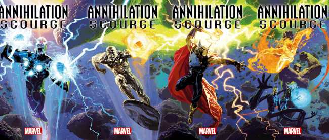 Annihilation: Scourge Cover
