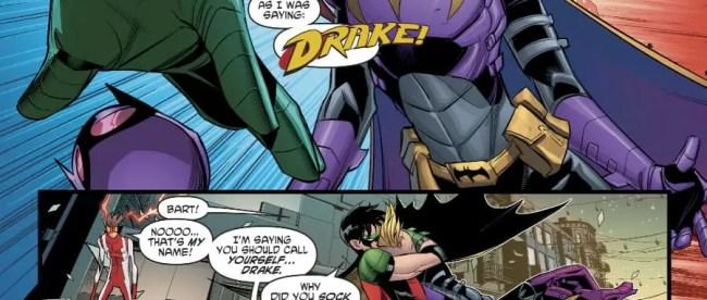 Bart Allen Stylizes 'Drake'