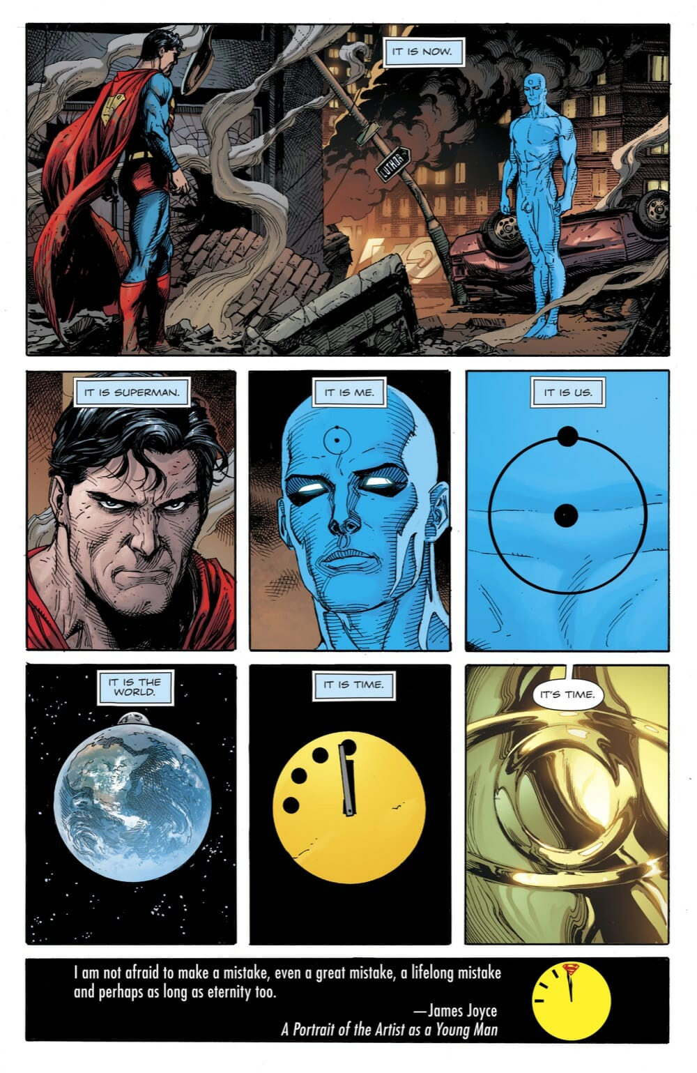 Doomsday Clock 11 Review Comic Book Revolution