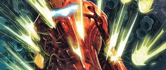 Tony Stark: Iron Man #19 Cover
