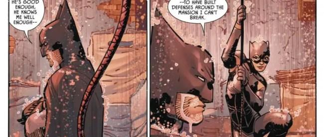 Flashpoint Batman Points Gun At Robin