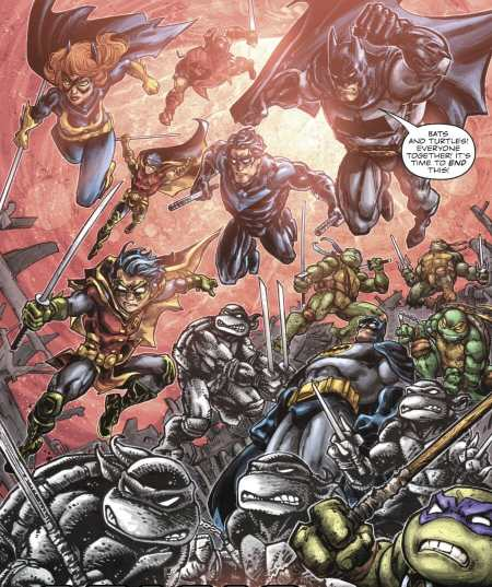 Batman/Teenage Mutant Ninja Turtles 5 Batman Family TMNT Assemble