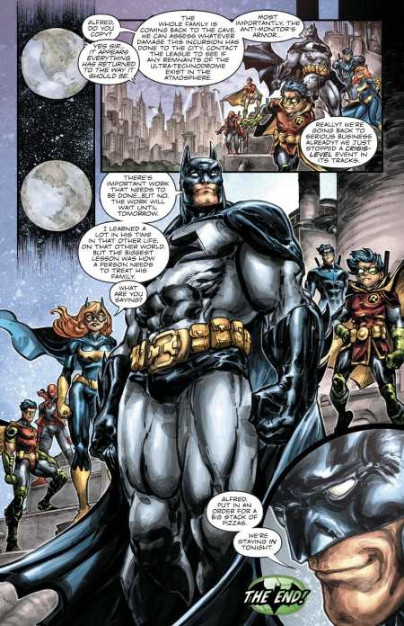Batman/Teenage Mutant Ninja Turtles #6 Highlight