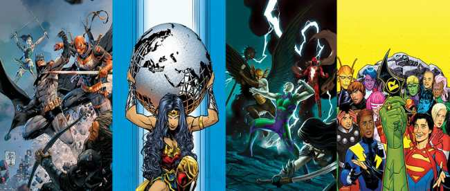 DC COMICS JANUARY 2020 SOLICITATIONS