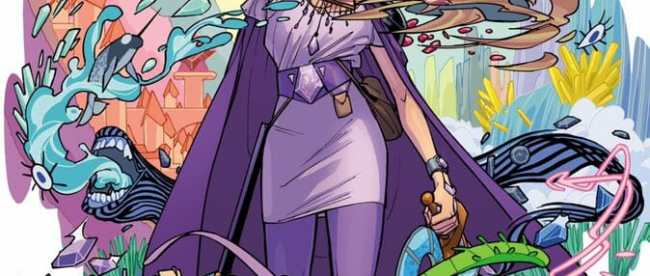 DC Comics New Amethyst Cover