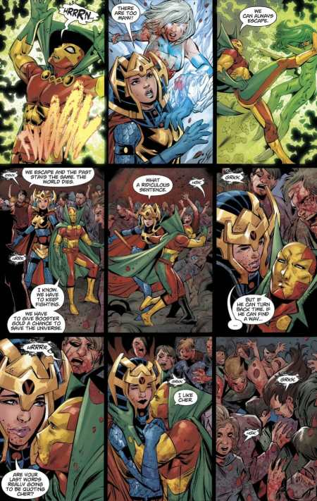 DCeased A Good Day To Die 1 Mister Miracle Big Barda Final Moments Together