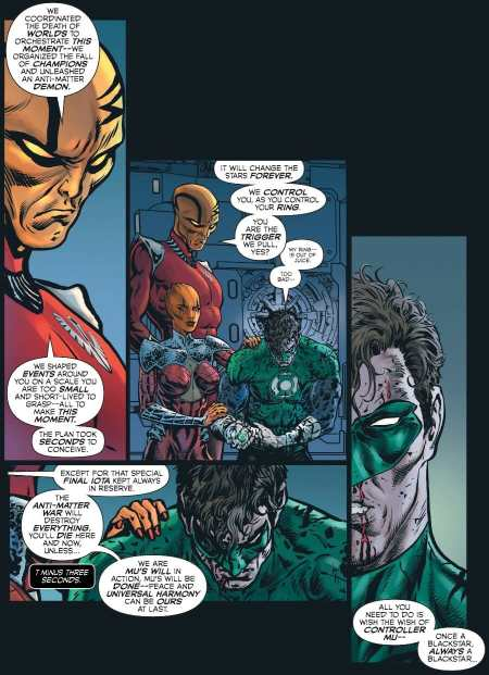 The Green Lantern #12 Highlight