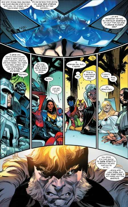 House of X #6 Highlight