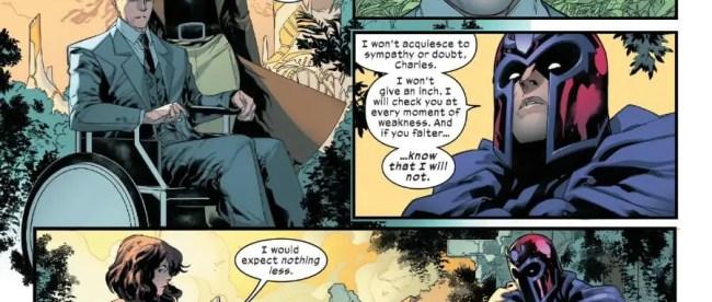 Charles Xavier Magneto Moira MacTaggert Alliance