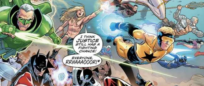 Justice League #34 Review