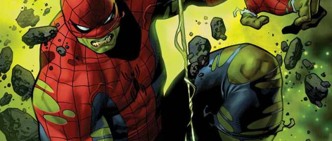 The Immortal Hulk: Spider-Man #1 Cover