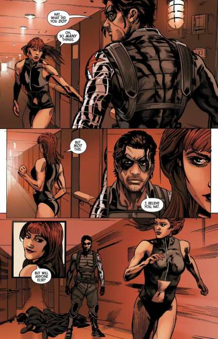Web of Black Widow #2 Highlight