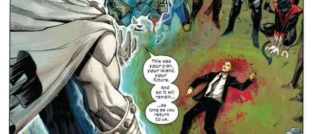 X-Force #2 Magneto Speech