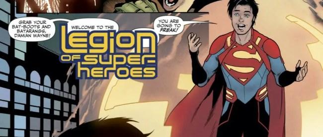 DC Comics Legion of Super-Heroes #2 Review