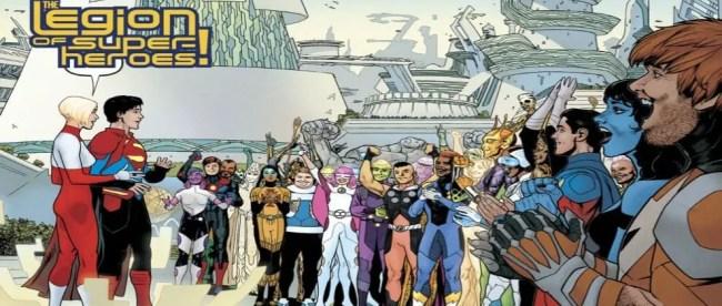 Brian Bendis Legion Of Super-Heroes Introduction