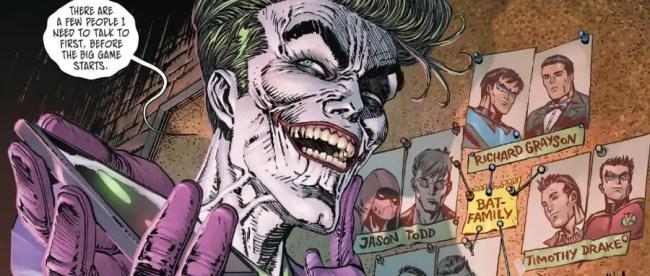 Batman #89 Joker Punchline