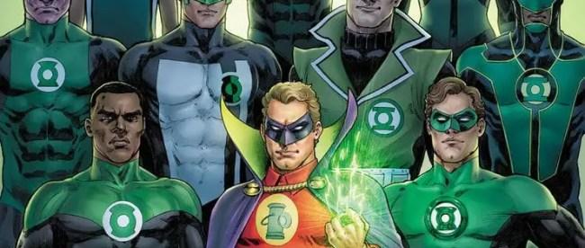 Green Lantern 80th Anniversary Cover
