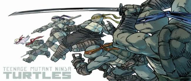 Teenage Mutant Ninja Turtles Sophie Campbell