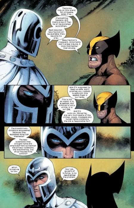 Wolverine 1 Magneto Logan Talk