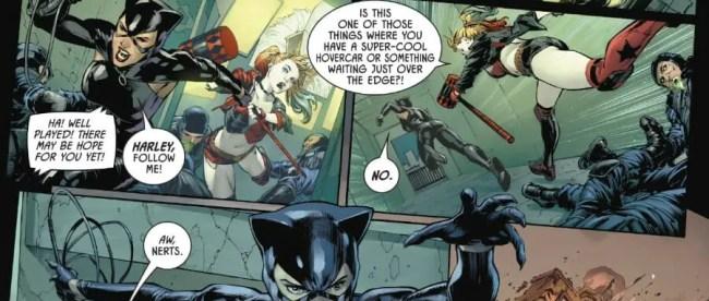 Batman #91 Catwoman Harley Quinn