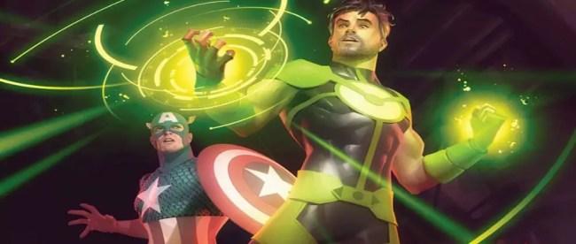 Captain America Annual #1 Feature