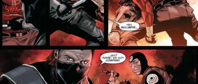 Daredevil #19 Bullseye Defeats Daredevil Imposter