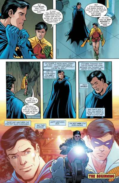 Robin 80th Anniversary 100-Page Super Spectacular Dick Grayson Moment