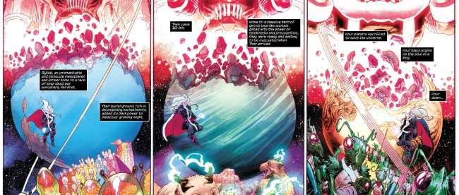Thor #4 Galactus Devours