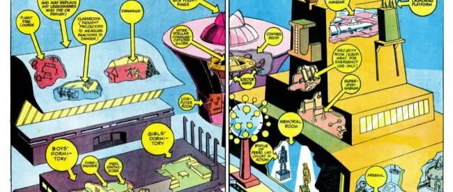4 Adventure Comics 403-Legion HQ (1971)