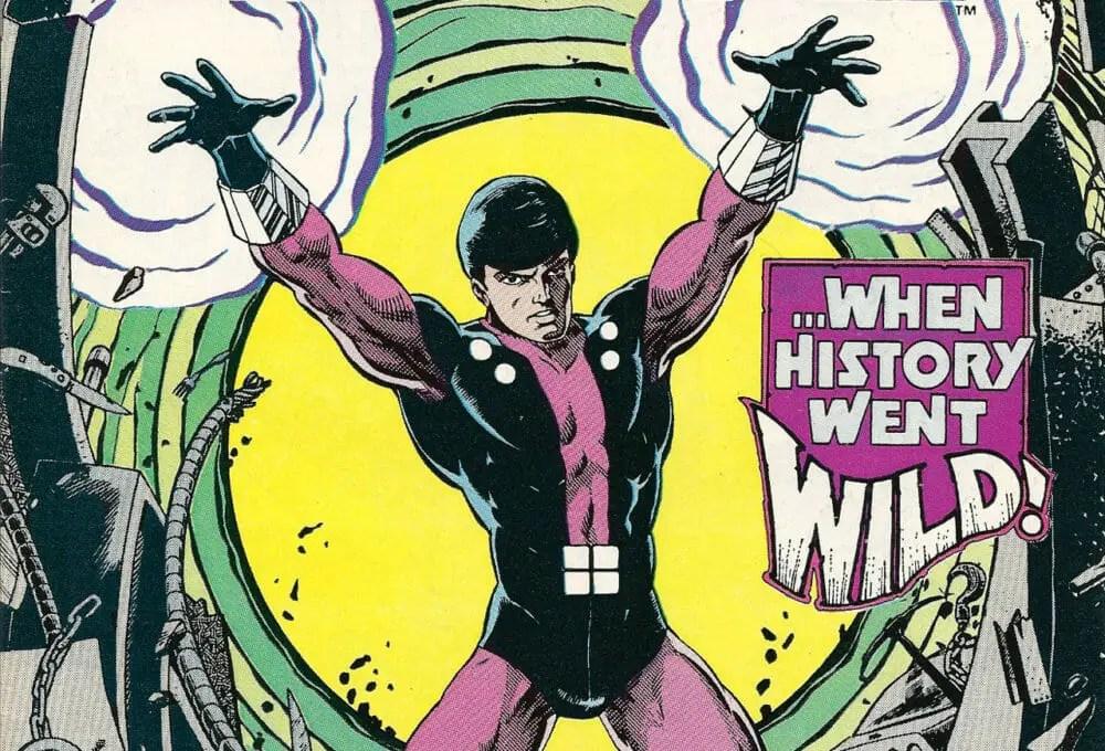 Cosmic Boy S Costume Design History Comic Book Revolution