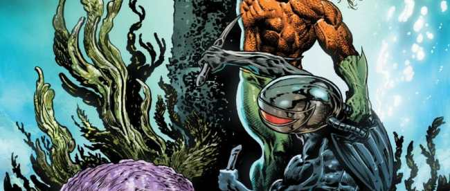 Aquaman: Deep Dives Cover