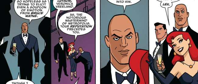 Batman: The Adventures Continue Chapter 1 Bruce and Lex