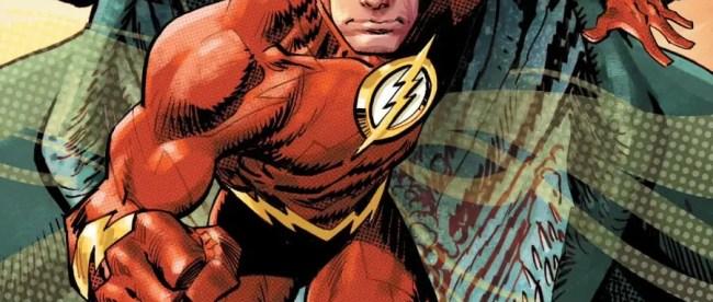 Flash: Fastest Man Alive #1 Cover