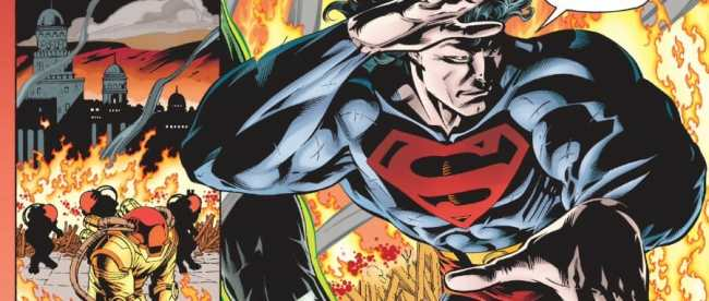 JLA #4 Superman Green Lantern
