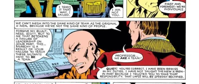 Uncanny X-Men #129 Cyclops vs Professor Xavier