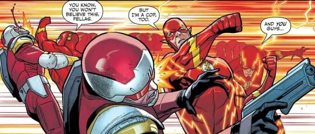 Flash: Fastest Man Alive #4