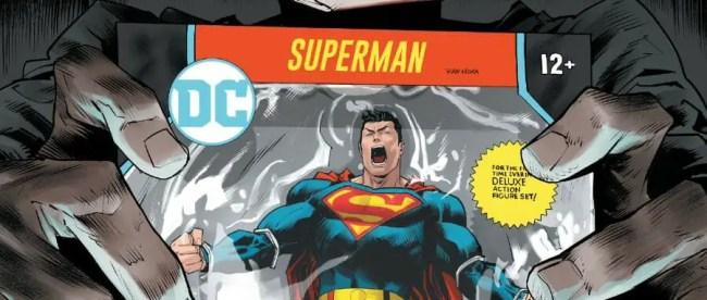 Superman: Man Of Tomorrow #3 Cover