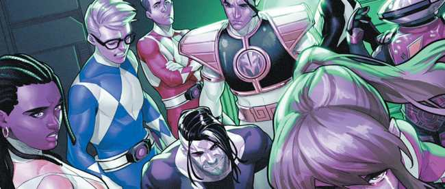 Mighty Morphin Power Rangers #52 Cover