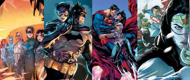 DC COMICS SOLICITATIONS DECEMBER 2020
