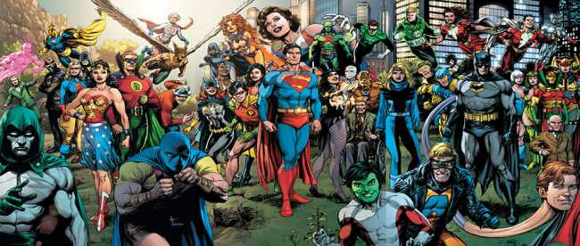 DC Comics Fantasy Publishing Line-Up Draft