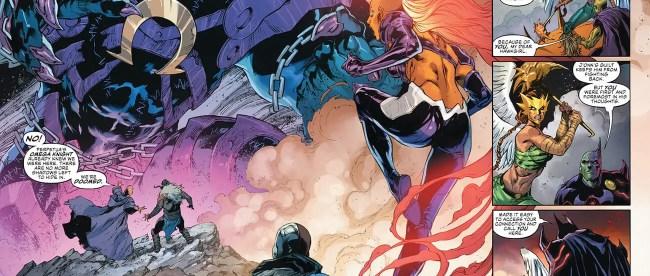 Justice League #55 Doom Metal