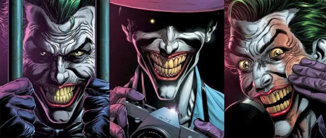 Batman Three Jokers Cover