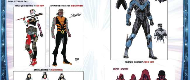 DC Comics: Future State Concept Art