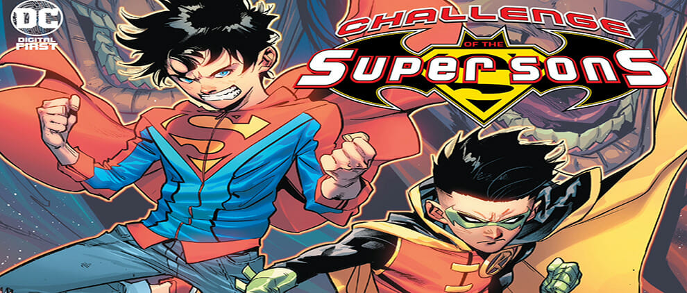 Challenge Of The Super Sons #1 Review