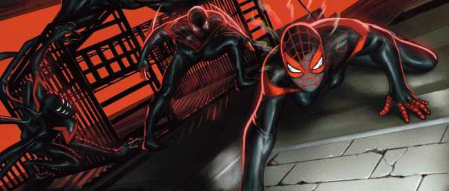 Miles Morales: Spider-Man #25 Cover
