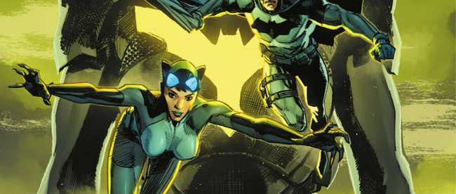 Batman/Catwoman #4 Cover