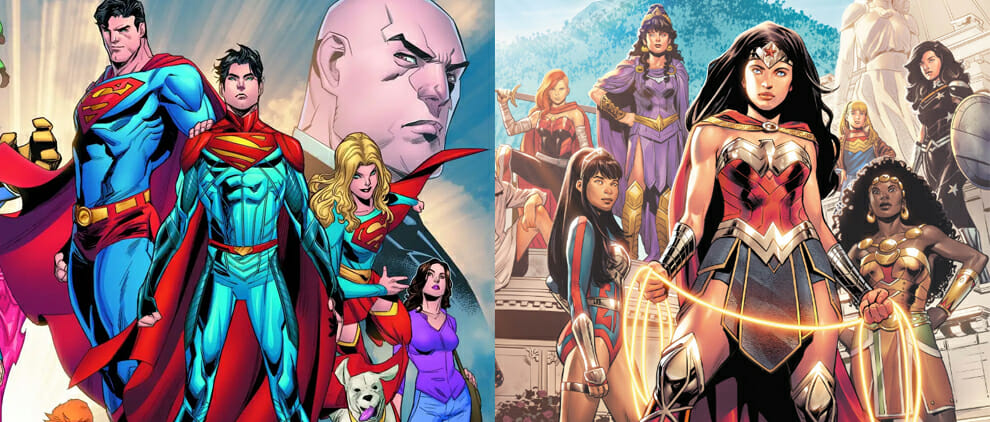 Infinite Frontier Report Card: Superman & Wonder Woman