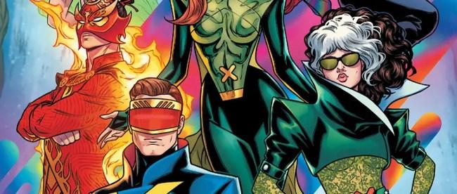 X-Men #21 New Team