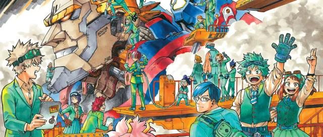 My Hero Academia Chapter 321