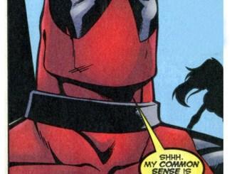 Deadpool tingling panel